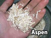 Aspen - a suitable substrate for King Snakes