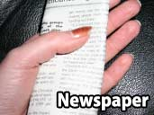 Newspaper - a suitable substrate for King Snakes